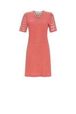 Ringella Nachthemd met korte mouw ( Kant ) Modal kwaliteit: tot maat 52
