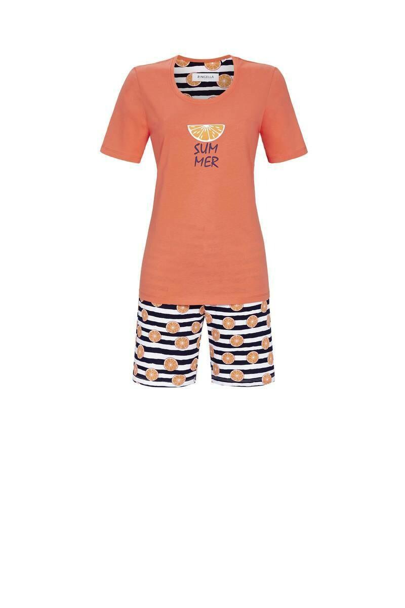 Ringella Dames pyjama: T-shirt met Short