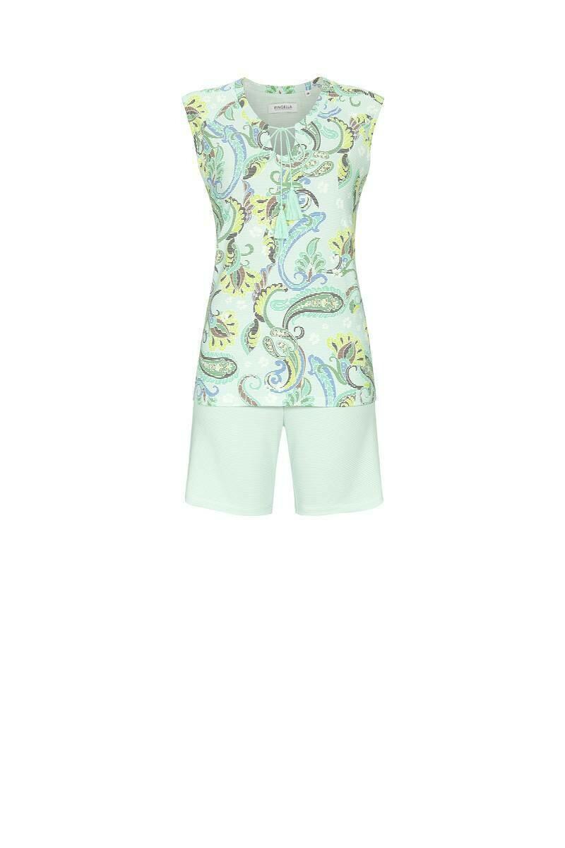 Ringella Pyjama: Mouwloze shirt met short