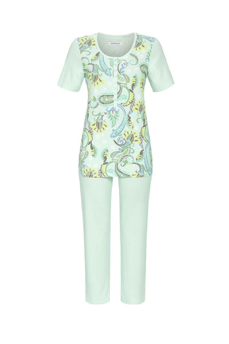 Ringella Pyjama: T-shirt met 7/8 broek ( Bijna lang )