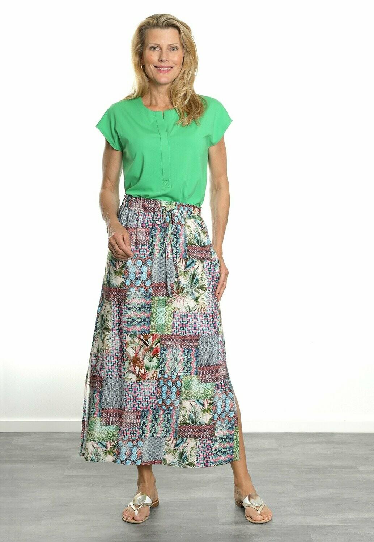 Blueberry Lange rok met elastiek