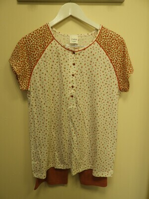 Catini Pyjama Korte mouw / drie kwart broek