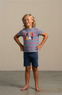 Eskimo Jongens pyjama: Matti ( 2 - 8 jaar ) zomer