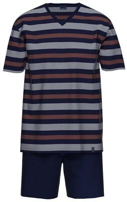 Ammann Heren Pyjama: V hals tot 3XL
