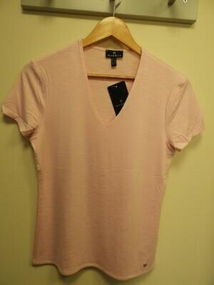 Marble Fijne T-shirt: Roze
