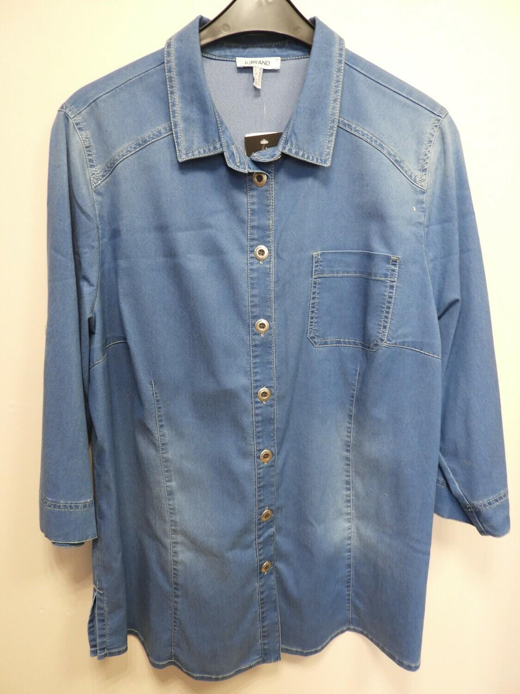 KJ Brand Jeans bloes: tencel kwaliteit tot maat 54