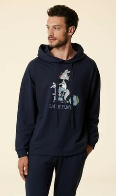 Happy People Homewear Heren: Sweater + broek