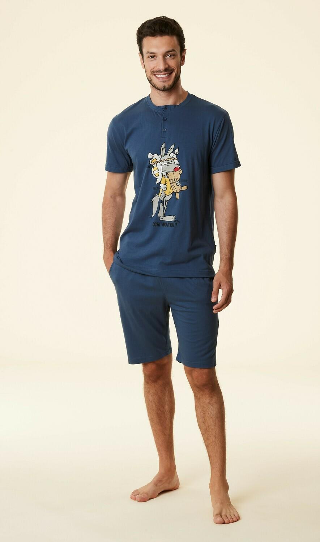 Happy People Heren Pyjama: Korte broek