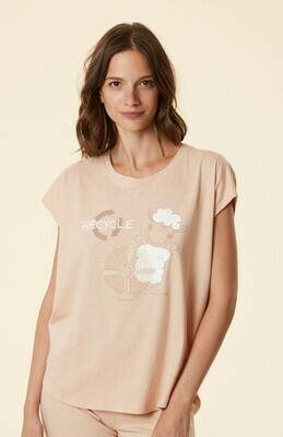 Happy People Homewear Damer: Sweater - Broek - Shirt