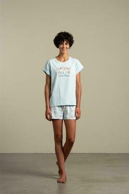 Eskimo Dames pyjama: Color me happy
