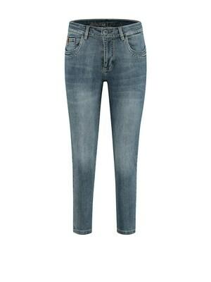 Para Mi Jeansbroek: Cappri Fancy  7/8 broek