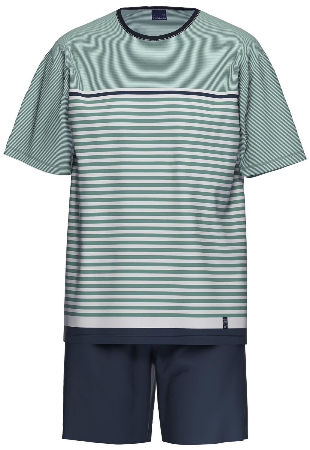 Ammann Heren Pyjama: Korte mouw / Short
