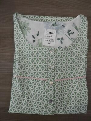 Catini Klassiek nachthemd: Korte mouw, 115cm, frons