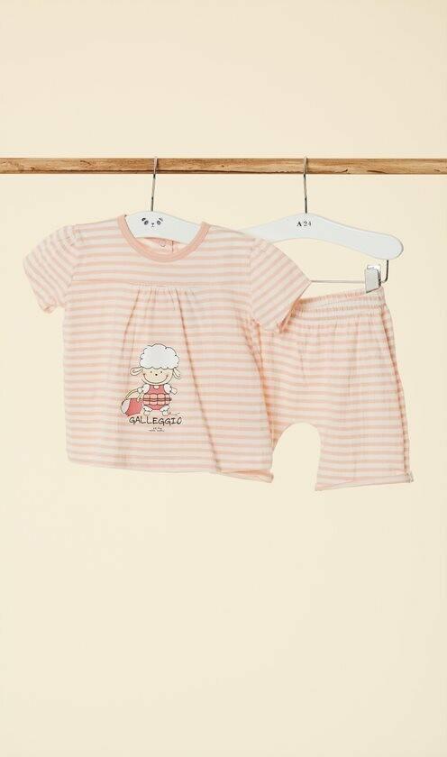 Happy People Baby Pyjama: meisjes ( korte mouw )