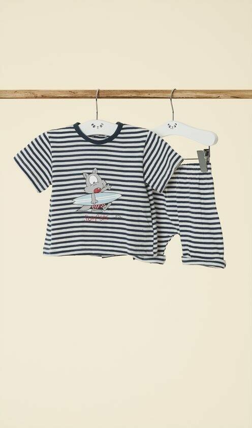 Happy People Baby Pyjama: Jongens ( korte mouw )