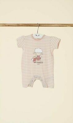 Happy People Baby Pyjama / kruippak: Meisjes ( korte mouw )