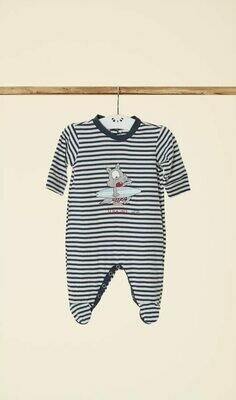 Happy People Baby Pyjama / kruippak: Jongens