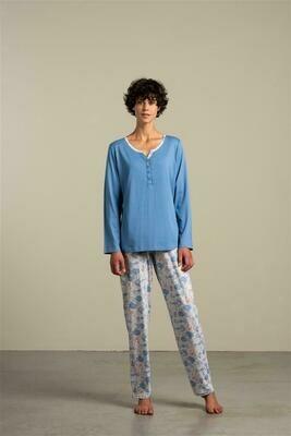 Eskimo Dames Pyjama: Isa ( Modal / katoen )