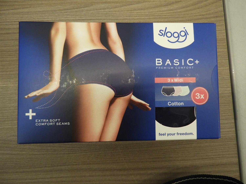 Sloggi Dames Basic Midi Color: 3 pack