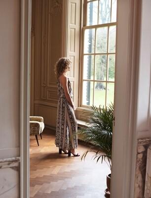 Summum Woman: Lang jurk met paisley print