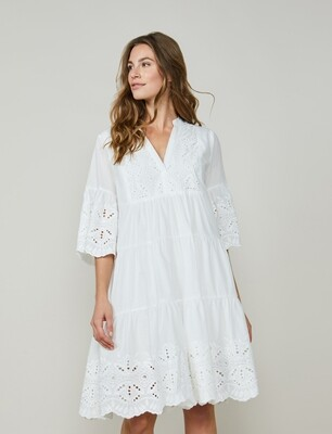 Summum Woman: Kleed Broderie anglaise.