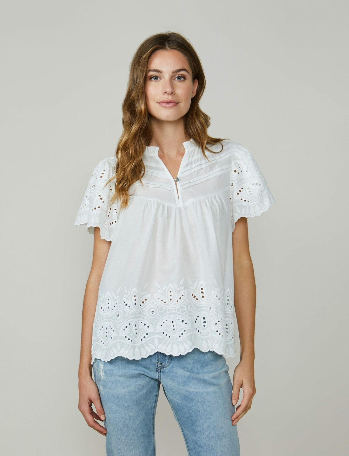 Summum Woman: Bloes Broderie anglaise