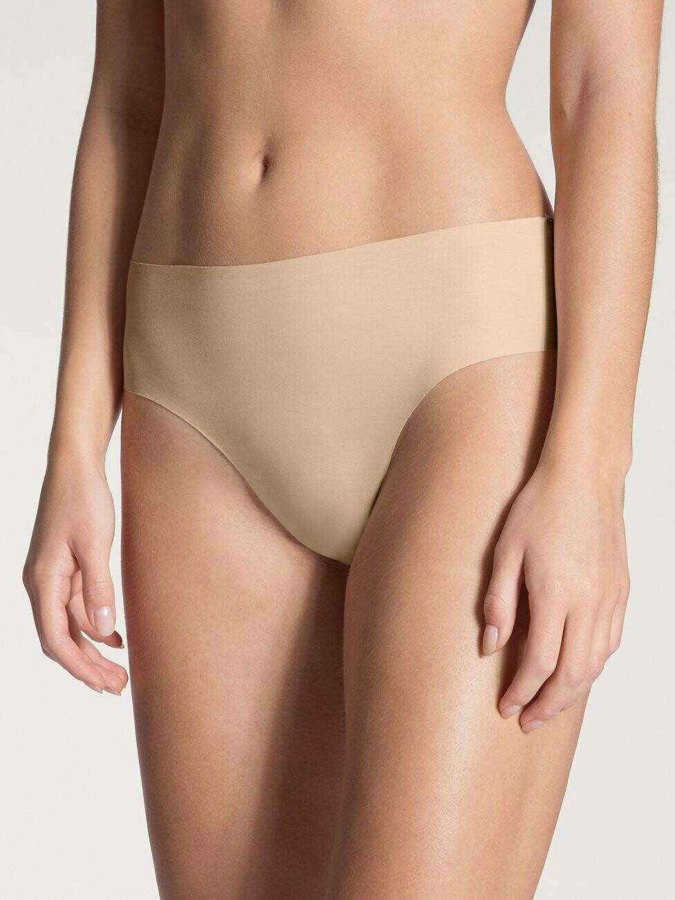 Calida Dames Naadloze slip NAtural skin: Midi model