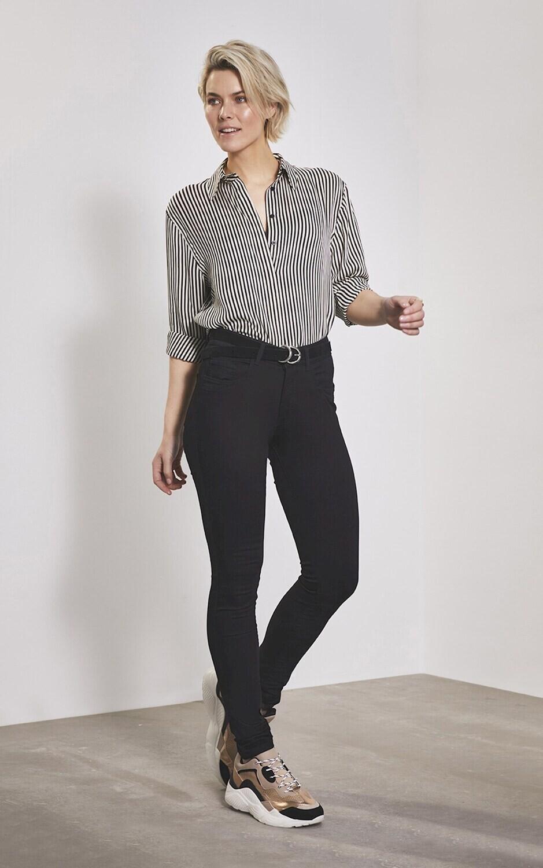 Para Mi Broek: Ivy Heaven Uni, Black L32 ( Extra skinny fit )