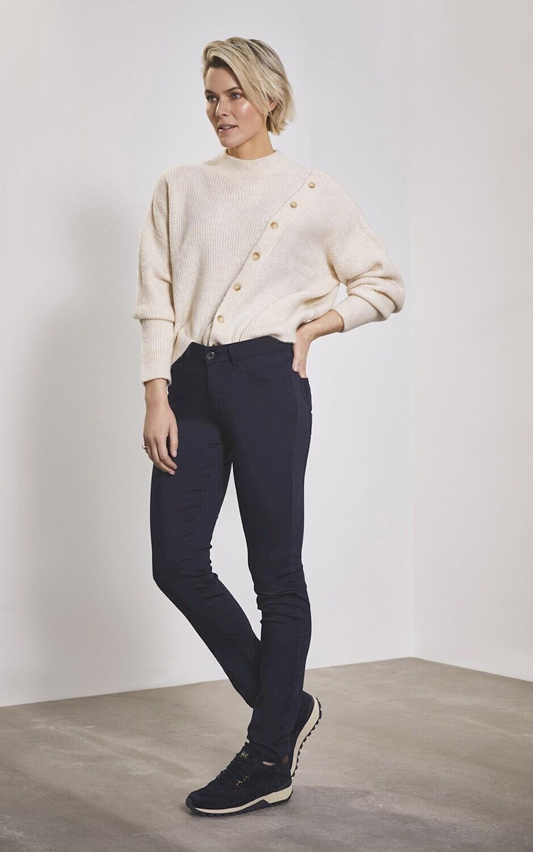 Para Mi Broek: Celine Heaven Uni, Navy L32 ( skinny fit )