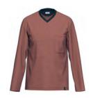 Ammann Heren pyjama: Lange mouw, V hals, lange broek tot 3XL