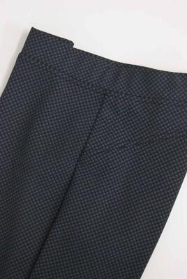 Diversa Lange broek: elastiek in de lenden ( Blauw met motiefje)