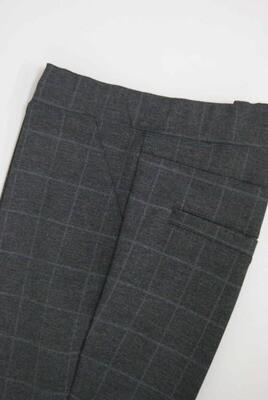 Diversa Lange broek: elastiek in de lenden ( grijze carré motief )