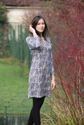 Diversa warm kleed: Lena, geprint