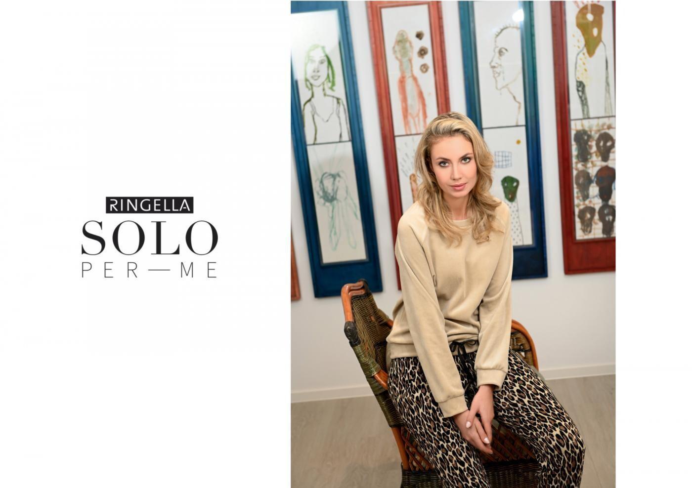 Ringella Solo Dames home wear: animal print, velours