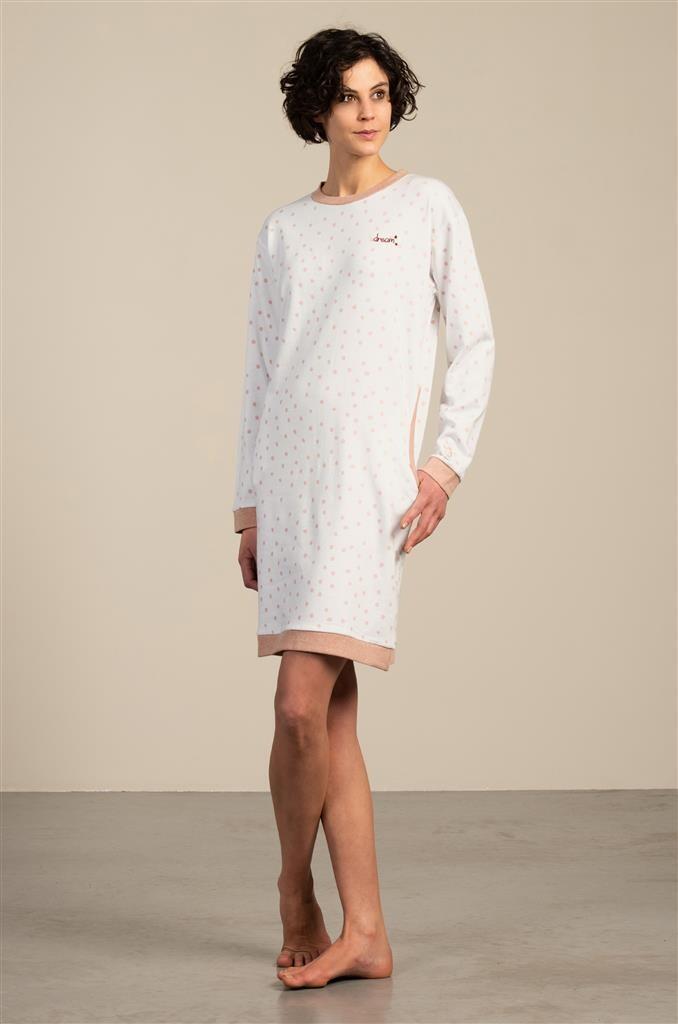 Eskimo Nachthemd: Sara, gemoltoneerd, tot XXL