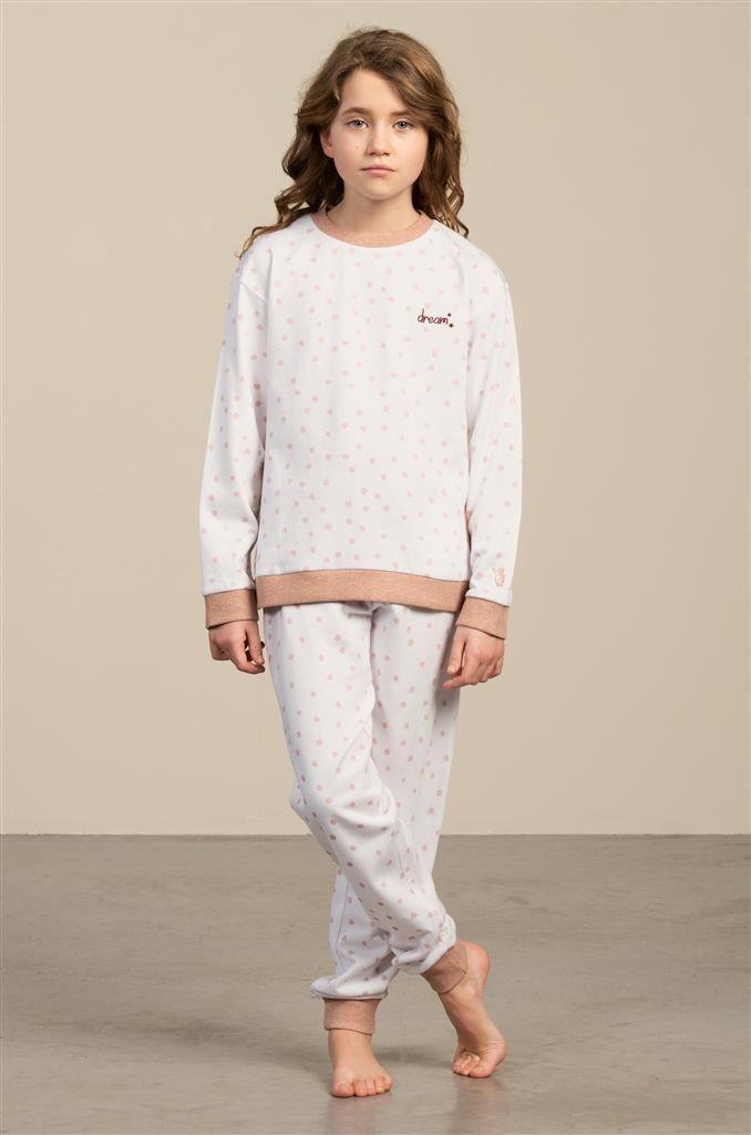 Eskimo Meisjes Pyjama: Sara, Gemoltoneerd ( 10 - 16jaar )