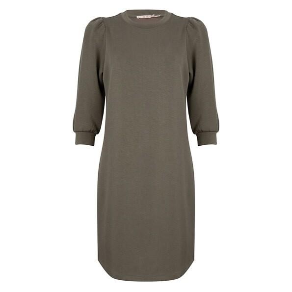Esqualo Kleed: Kaki ( zeer zachte stof )