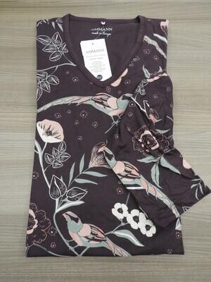 Ammann Dames Nachthemd: Paars, Modal ( fijn, zacht )