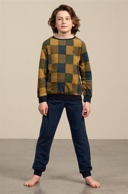 Eskimo Jongens Pyjama: Tyler ( Fleece ) 10 - 16jaar