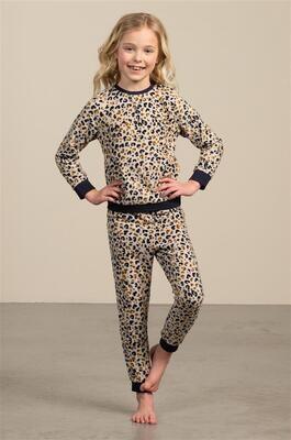 Eskimo Pyjama Meisjes: Flore, 2 - 8jaar, Fleece