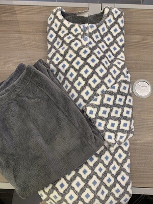 Egatex Dames Pyjama / Homewear: Fleece, extra warm