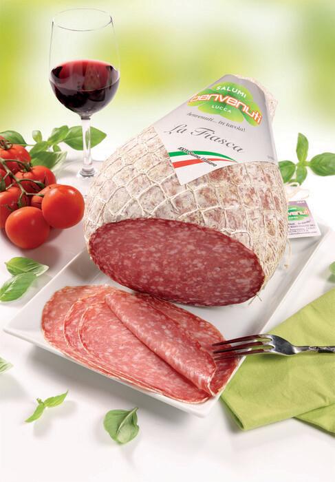 italiaanse benvenuti salami