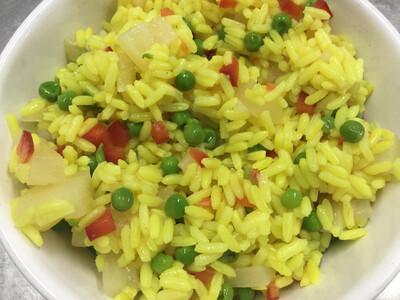 rijstsalade van de chef
