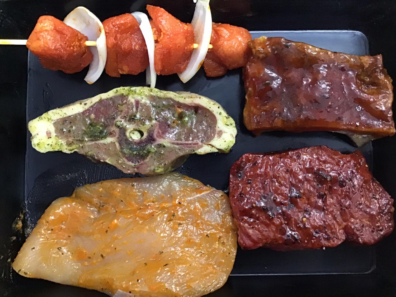 BBQ pakket 5