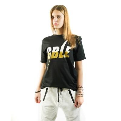 T-SHIRT GOLD BASIC BLACK (WOMAN)