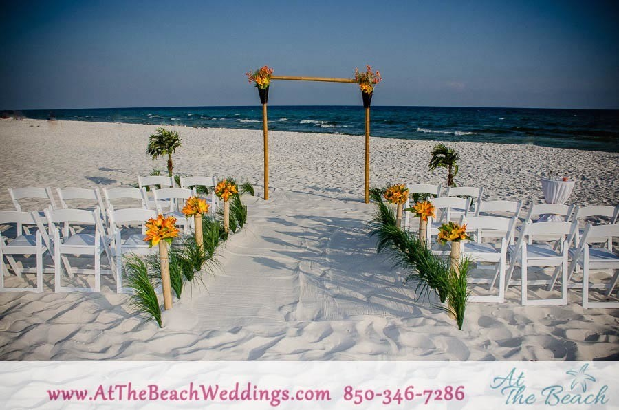 Threshold of Love - Bamboo Beach Wedding Package