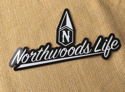 Northwoods Life Vehicle & Boat Sticker