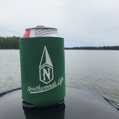 Northwoods Life Can Koozie