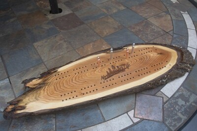 Custom Hand Crafted Cribbage Board