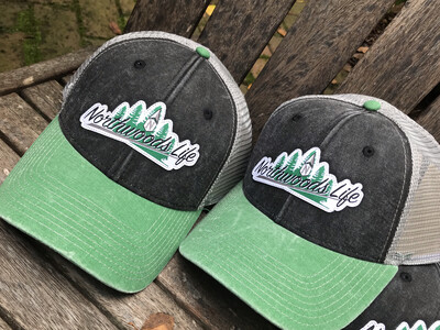 "Vintage ""Northwoods Life"" Trucker Hat"